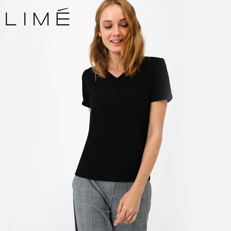 Фото - Blouse LIME 254|0408|673 contrast lace keyhole back blouse