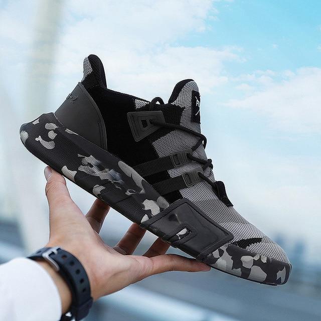 Для взрослых Мужской, большого размера кроссовки для прогулок беговые кроссовки спортивные весна осень дышащая сетка на шнуровке спортивная обувь для бега