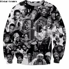 PLstar Cosmos Новая модная верхняя одежда с длинными рукавами хип-хоп певица 2pac Тупак печать 3d толстовка унисекс повседневные пуловеры