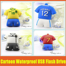 2016 USB drive 16GB Brazil jersey pendrive 8gb 16gb 32gb 64gb Brasil football clothing usb drive World Cup jerseys Pen drive