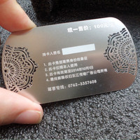 High Quality Rose Golden Stainless Steel Wedding Card