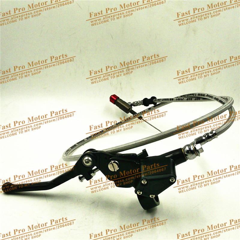 Hydraulic clutch lever master cylinder for dirt bike pit bike motocross use silver colour free shipping