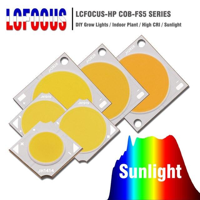 10 Вт 20 Вт 30 Вт 50 Вт 100 Вт растут COB светодиодный чип полный спектр Солнца diy растут свет для Гидропоника в закрытом помещении растительного выр...