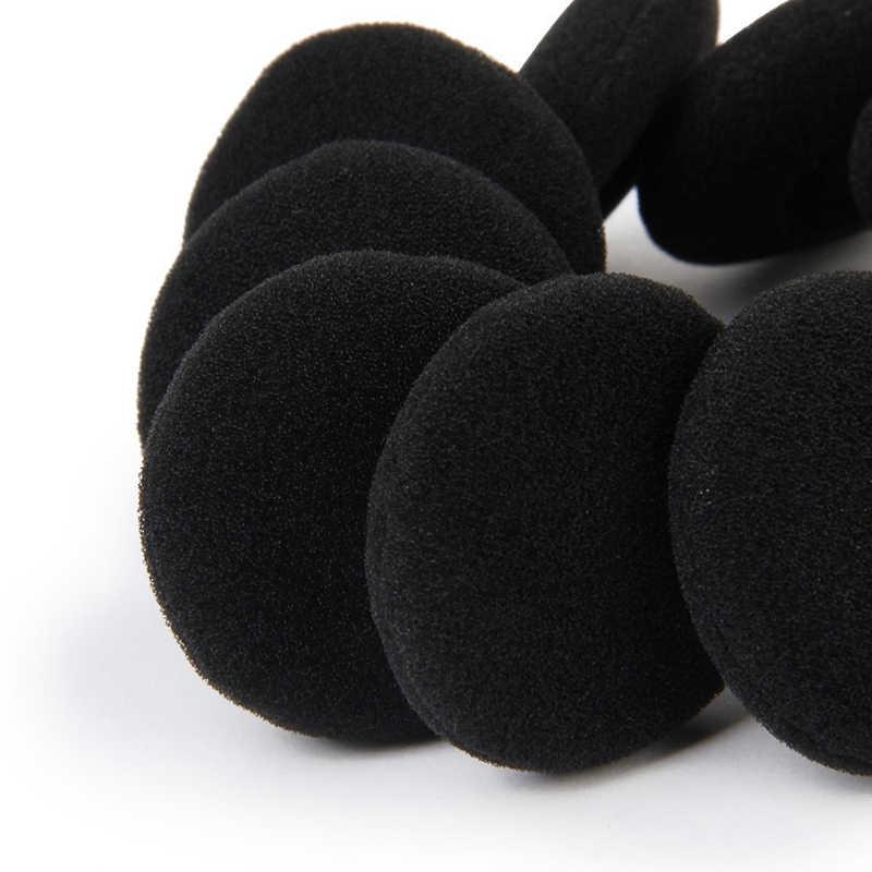 10 sztuk/zestaw 3.5 cm miękka pianka słuchawka douszna wymiana Earpads gąbka okładki słuchawki słuchawki MP3 MP4 rozmiar 3.5 cm Wkładki do uszu