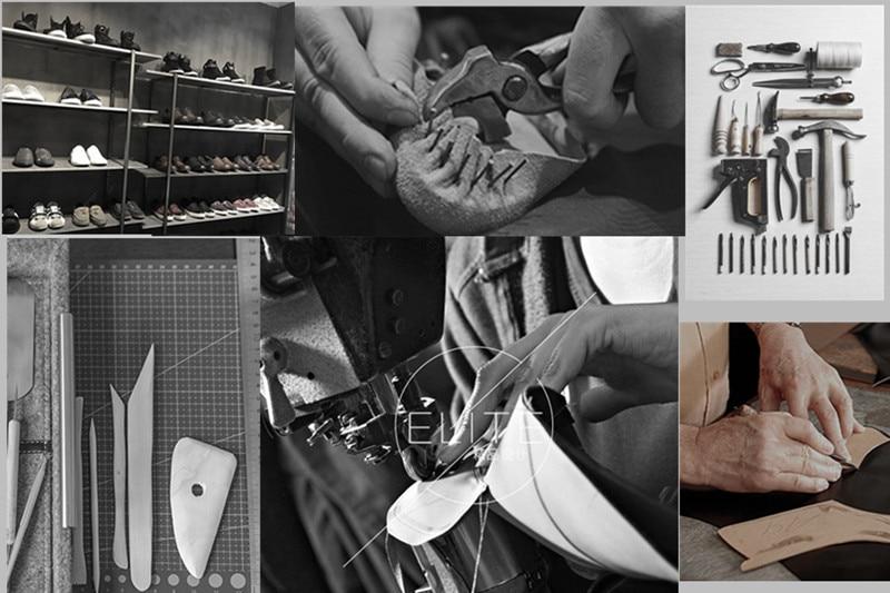 Pentacler exclusivo personalizado artesanal dunk arquivo vintage real pele python botas