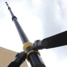 TM 390 di alta qualità 390 centimetri di alta telescopio treppiede e monopiede, telescopica antenna mast fotocamera pole per la macchina fotografica