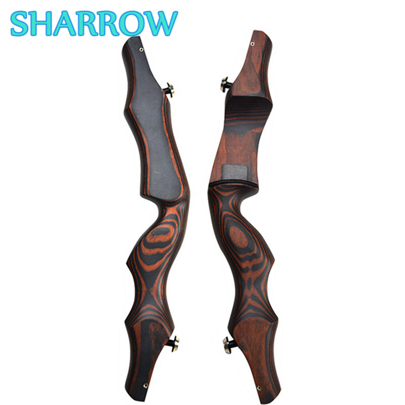 19 Wooden ILF Archery Bow Riser Handle Takedown American Recurve Bow Handle Right Hand For Outdoor