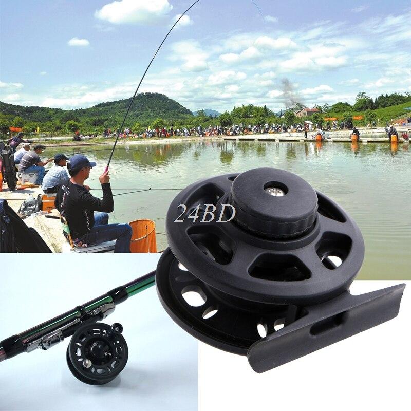 85g Fly Fish Reel Former 1BB Ball Bearing Fish Reel Rafting Ice Fishing Wheel M07