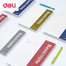 Deli 1 pcs Notebook wholesale A5 B5 thick soft copy small fresh cute student stationery work this diary office simple notebook