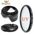 KnightX UV Filter Lens cleaning Kit Petal Flower FOR Sony Nikon D70 D80 D90 D100 D3000 D3100 Canon Choose Szie from 49MM  67MM