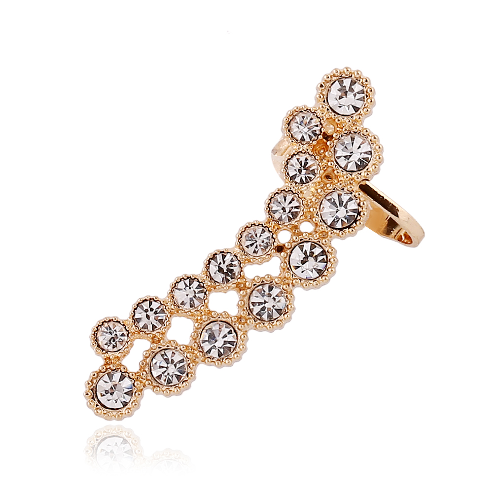Didnot Inlaid Crystal Flower Clip Earrings Left Ear Jewelry Earring Clip Ear  Full Zircon Cuff Earring