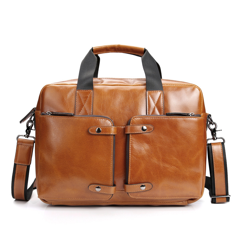 YISHEN Fashion Men Crossbody Bags Oil Wax Genuine Cow Leather Outside Travel Bags Large Capacity Totes Male Shoulder Bag MS20208 yishen vintage genuine leather men backpack large capacity male shoulder bag with laptop case fashion men travel bags msxy20179
