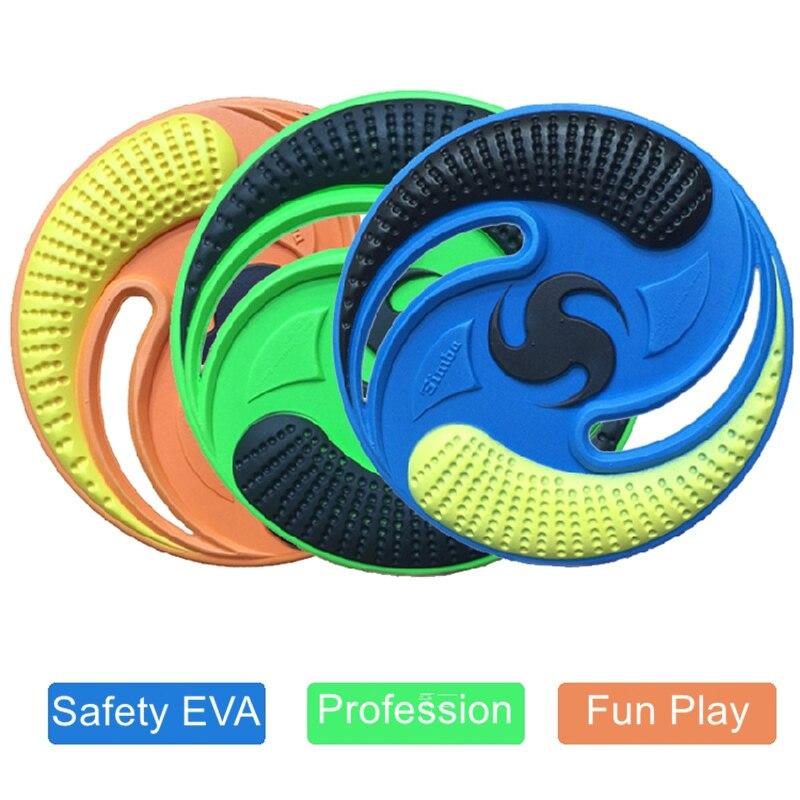 deportivo de juguete de la novedad cm eva disco volador frisbee ufo boomerang seguridad para