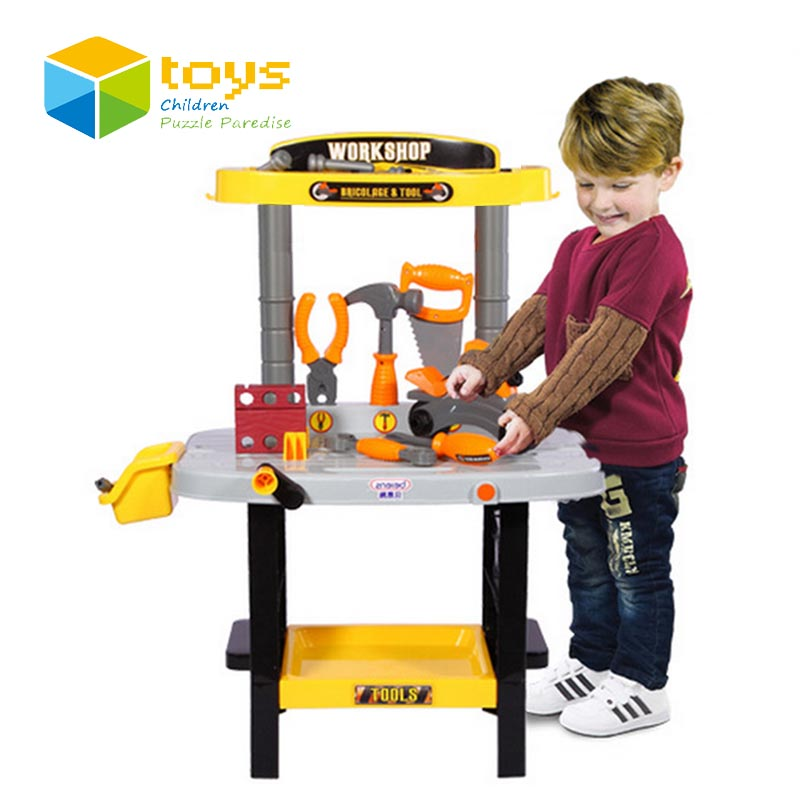 Boy Educational Toys : Pretend play house garden tool toys kit workbench early
