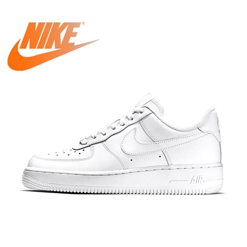 Chaussures de Sport pour femmes NIKE AIR FORCE authentique planche de skate chaussures baskets pour femmes Sport extérieur Designer 315115