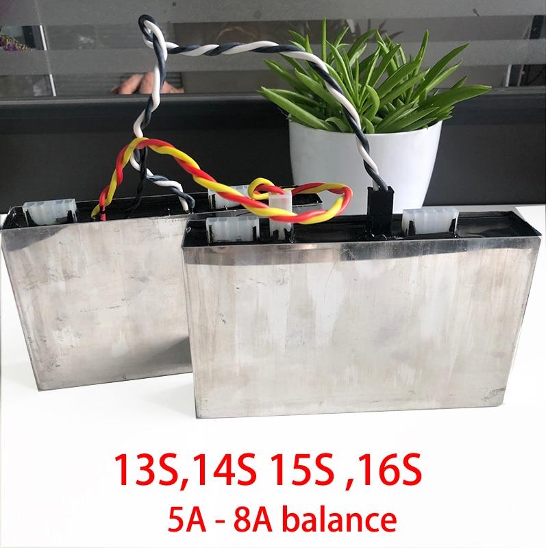 13 S 14 S 16 S Lithium Batterij Hoge Huidige Actieve Balans 5A 8A Li Ion Lipo Lifepo4 Equalizer Balancer niet bescherming boord bms-in Batterij accesoires van Consumentenelektronica op  Groep 1