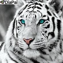 DiaPai 5D DIY Diamond Painting 100% Full Square/Round Drill Animal tiger Diamond Embroidery Cross Stitch 3D Decor A21523 diapai 100% full square round drill 5d diy diamond painting animal tiger diamond embroidery cross stitch 3d decor a18678