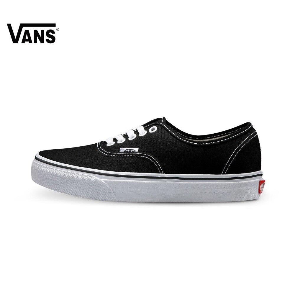 Authentic Vans Sneakers Unisex Donne Degli Uomini di Sport Scarpe Da Skateboard Gomma Waffle Suola Low-top scarpe Da Ginnastica Classiche Scarpe di Tela