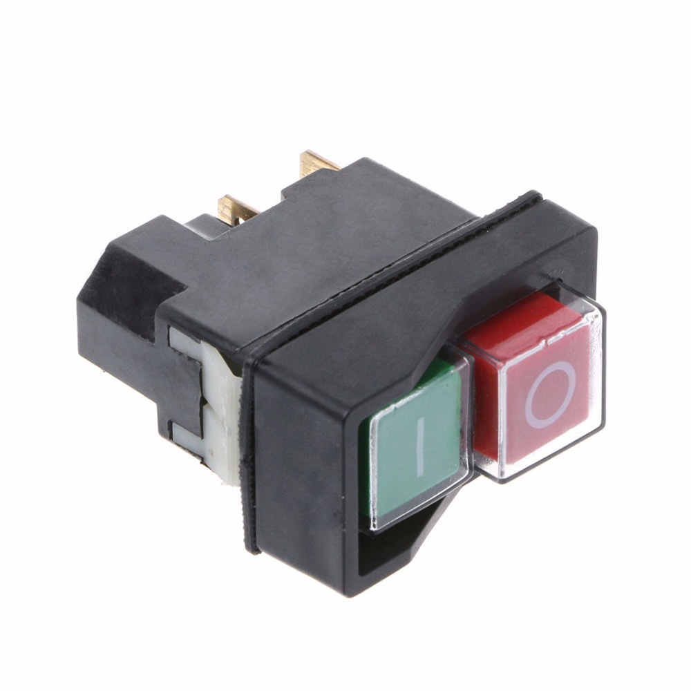 Image 4 - KLD 28A Waterproof Magnetic Switch Explosion proof Pushbutton Switches 220V 18A IP55-in Switches from Lights & Lighting