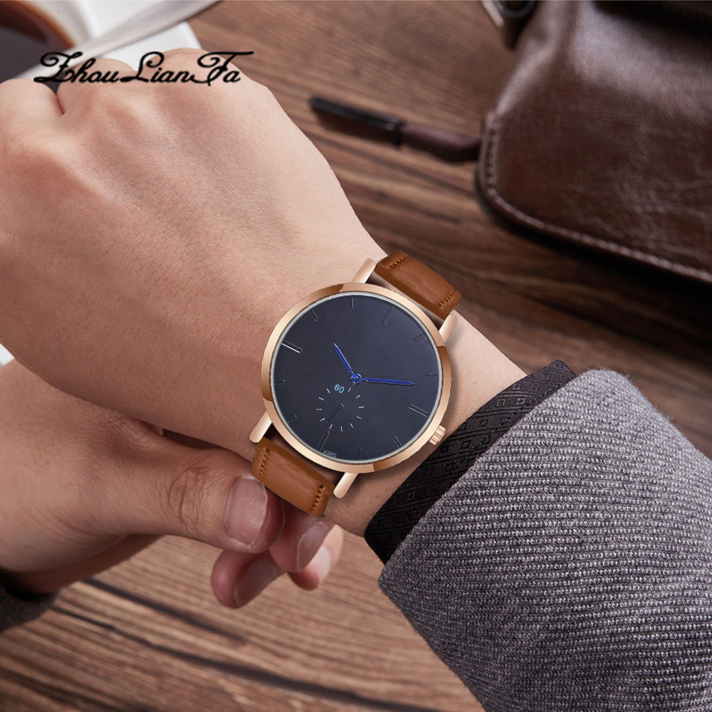 Fashion clock women Man relogio masculino Crystal clockLeather Analog Quartz Wrist Watch mens watches top brand luxury reloj