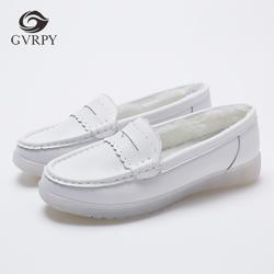 2018 г. Высококачественная обувь для медсестры Женская белая рабочая обувь на плоской подошве Нескользящая медицинская обувь удобная