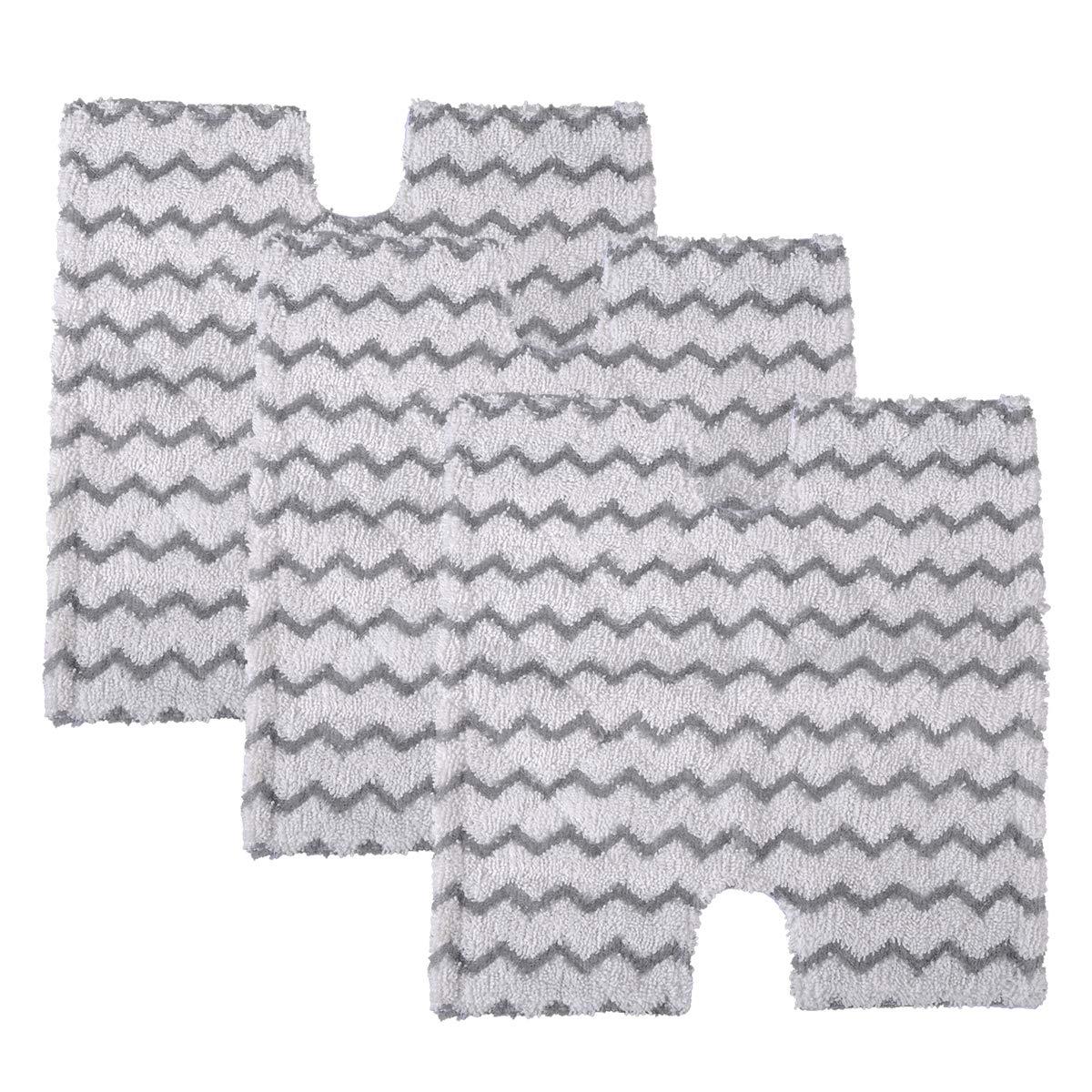 5Pcs Washable Microfiber Steam Pocket Mop For Shark 3973 S3973D S5002 S5003