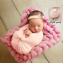 Одежда для маленьких детей; гамак; одеяла для новорожденных; шаль; стрейч-трикотаж; реквизит для фотосессии; хлопковая ткань для фотосессии