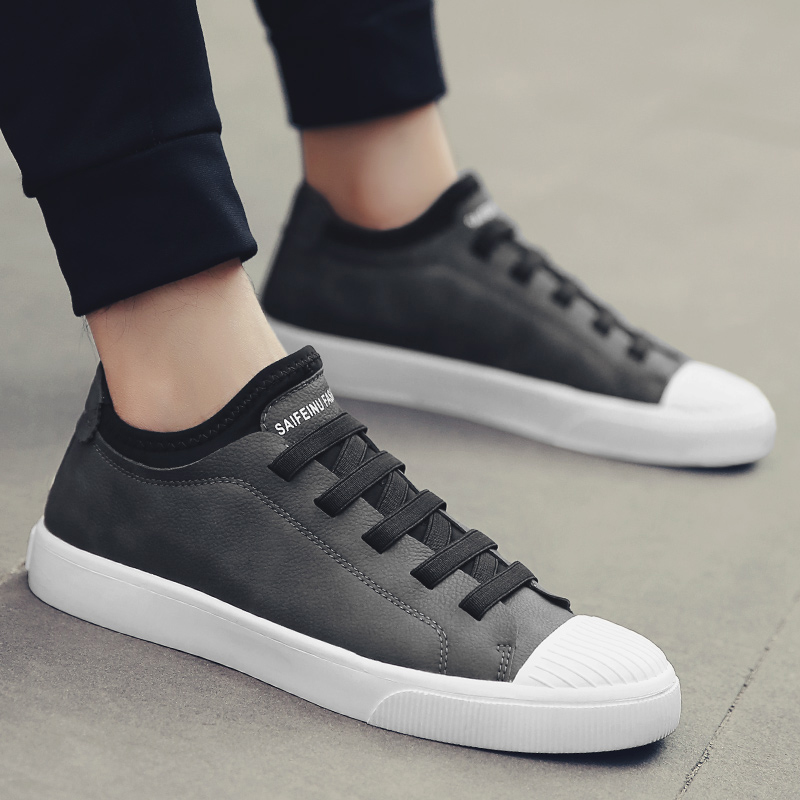 2018 Spring/autumn New Mens Shoes Summer Style Korean British Casual for Men One Foot Slouch  5