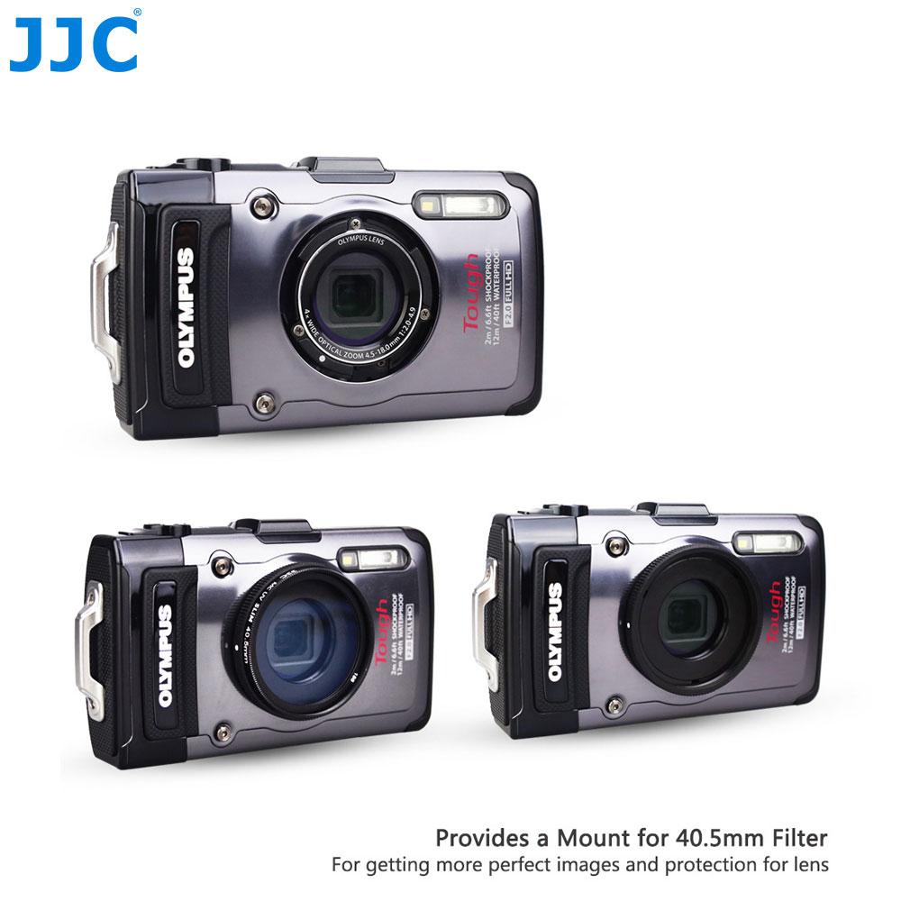 JJC 40.5mm Filetage pour Filtre Monture Bague D'adaptation pour Olympus TG-1/TG-2/TG-3/TG-4/TG-5FCON-T01 TCON-T01 CXamera Tube comme CLA-T01