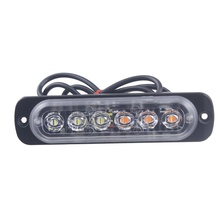 Автомобиль Грузовик аварийный светильник мигает пожарные светильник s 6 Led авто-Стайлинг скорой помощи полиции светильник Строб Предупреждение светильник 12 V-24 V