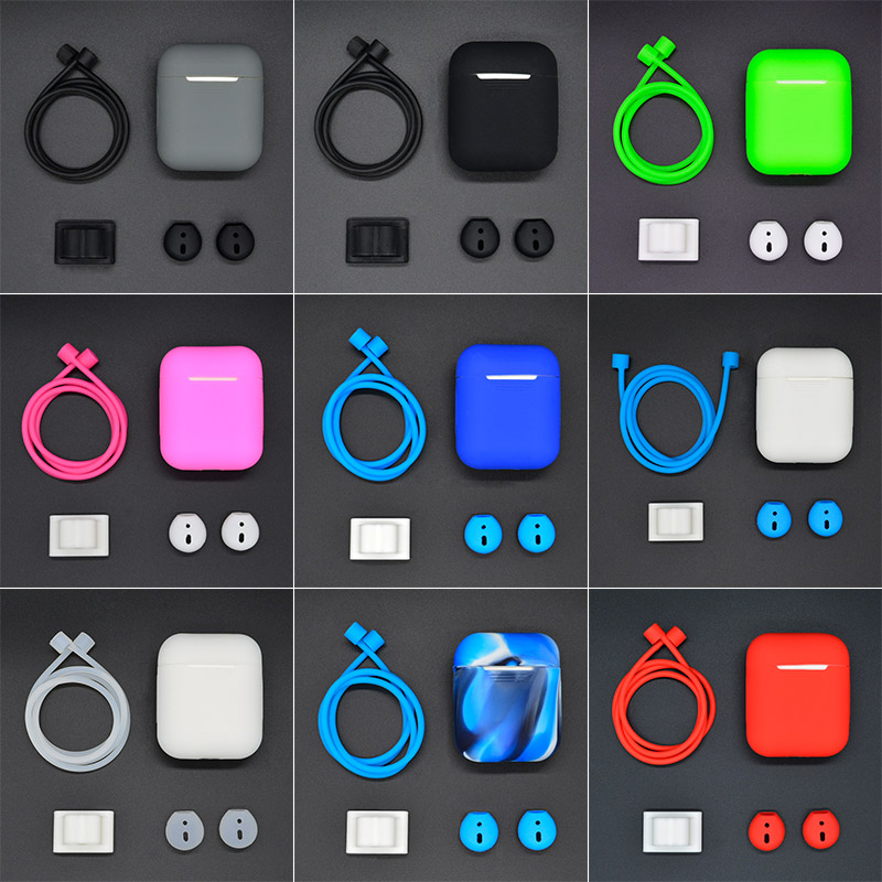New Soft Silicone Case Shockproof Cover Earphone Cases