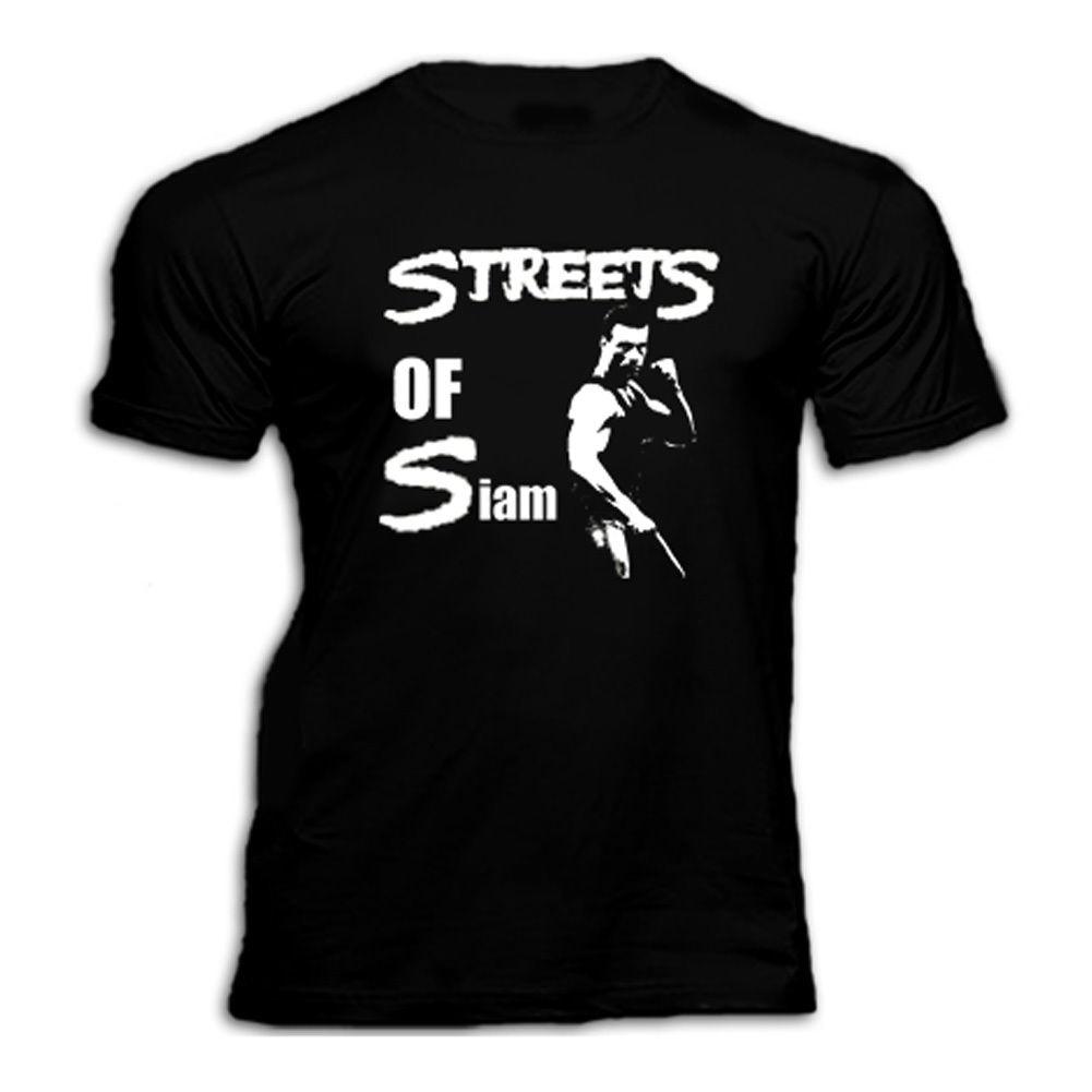 VAN DAMME BLOODSPORT KICKBOXER STREETS OF SIAM 80s Movie T SHIRT Cool Casual pride t shirt men Unisex New Fashion tshirt Loose