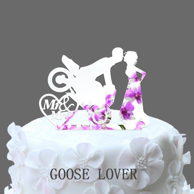 Awe Inspiring Motocross Cake Decoratie Motorfiets Cake Topper Bruid En Birthday Cards Printable Trancafe Filternl