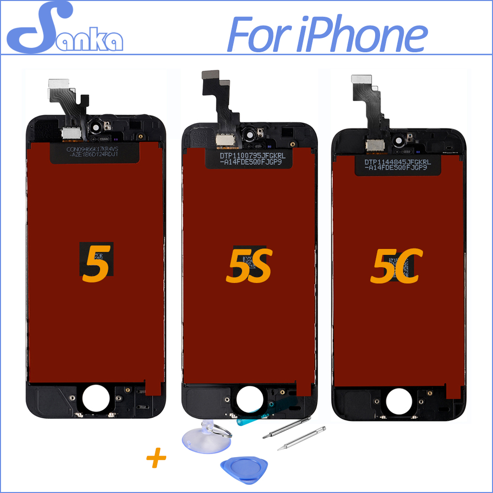 iphone 5 screen repair cost sanka for iphone 5s 5c 5 lcd screen display touch screen 17396