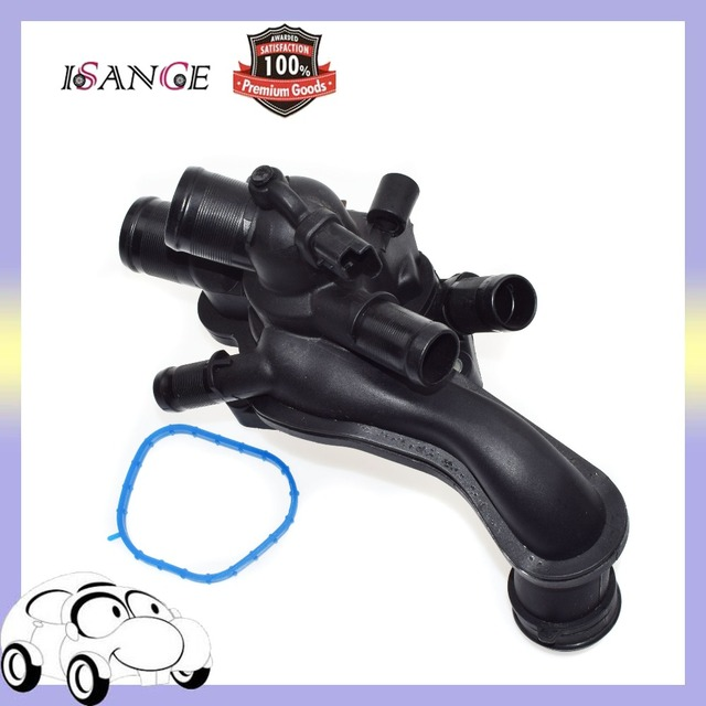 isance engine coolant thermostat assembly+seal 11537534521 for mini cooper  1 6l r55 r56 r57 r58 r59 r60 07 08 09 10 11 12 13