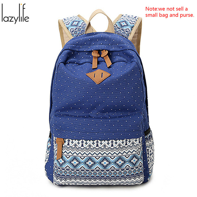899860bd7bc6 LAZYLIFE Ships From RU Cheap Women Canvas Backpack Mochila Escolar Women  School Backpack Rucksack Laptop Backpacks for Women