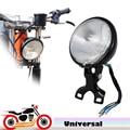 5'' Retro Motorcycle Headlight Lamp Fog Light for Harley Yamha Kawasaki Honda Suzuki Cafe Racer Choppers Touring Custom Bikes