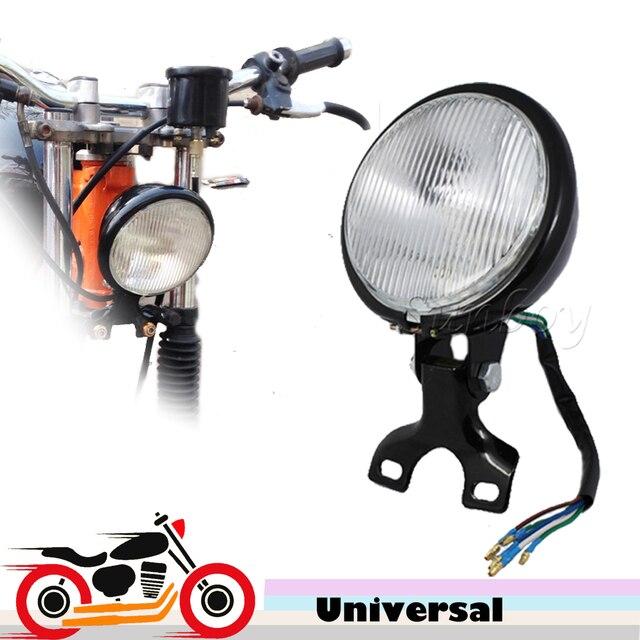 Cafe Racer Headlight Assembly : Aliexpress buy retro motorcycle headlight lamp
