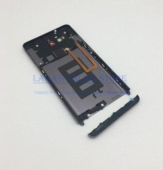 Originale per Huawei Ascend Mate 7 Della Copertura Posteriore Della Batteria Dell'alloggiamento del Portello con Scanner di Impronte Digitali Cavo Della Flessione + NFC Pezzi di Ricambio