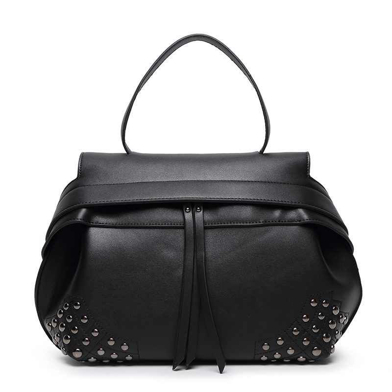 Women Handbags Fashion new arrival Crossbody bag Shoulder messenger bag ladies totes with rivet  new arrival fashion color rivet metal decoration female totes shoulder bag handbag women s crossbody messenger bag 2 colors