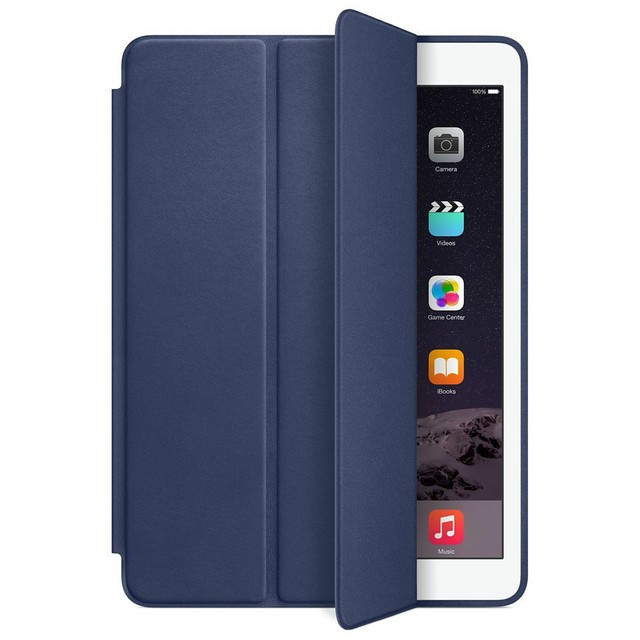 PU Leather Ultra Thin Slim Smart Case for Ipad air 2 / air 1