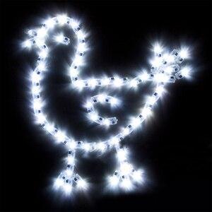 Image 5 - 100 adet/grup LED balon Lamba LED ışık Mavi Kırmızı Beyaz Doğum Günü düğün balonları bar Parti Dekorasyon Anahtarı ışık Parlayan Balon