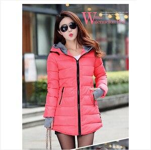 Image 4 - Winter Jacket Women 2020 Winter And Autumn Wear High Quality Parkas Winter Jackets Outwear Women Long Coats TSP1657
