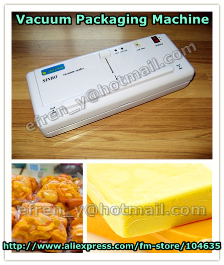 HOT SALE IN RUSSIA Household Food Vacuum Sealer Packaging Machine Film Sealer Vacuum Packer Including 10Pcs Plastic Bags