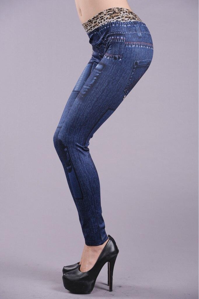 Leopard Print Women's Jean's Leggings - One Size Fits All - Blue or Black - image HTB1X1FiX8USMeJjSszcq6znwVXan on https://awesomeleggingstore.com