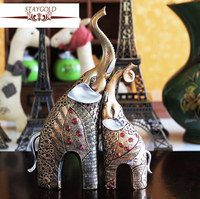 Resin Elephant Handicrafts Resin Handicraft Factory Direct Sales Of Millions Of Spot