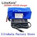 32821546737 - LiitoKala 36V batería 500W 18650 batería de litio 36V 8AH con bms batería de bicicleta eléctrica con caja de PVC para bicicleta eléctrica
