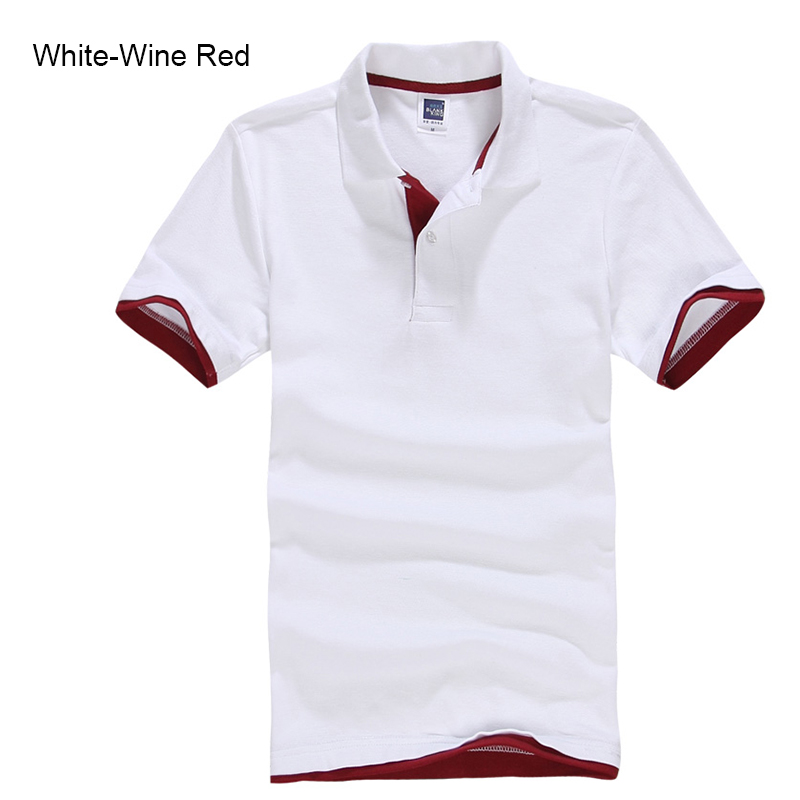 Brand New Men's Polo Shirt High Quality Men Cotton Short Sleeve shirt Brands jerseys Summer Mens polo Shirts 53