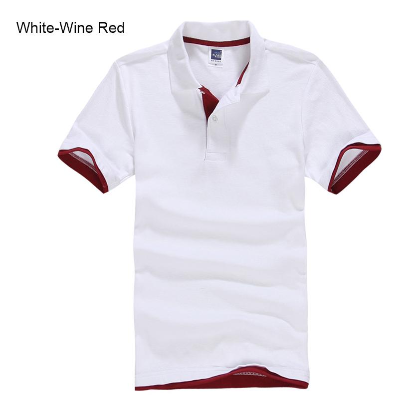 URSPORTTECH Men's Polo Shirt For Men Desiger Polos Men Cotton Short Sleeve shirt Clothes jerseys golftennis Plus Size XS- XXXL 25