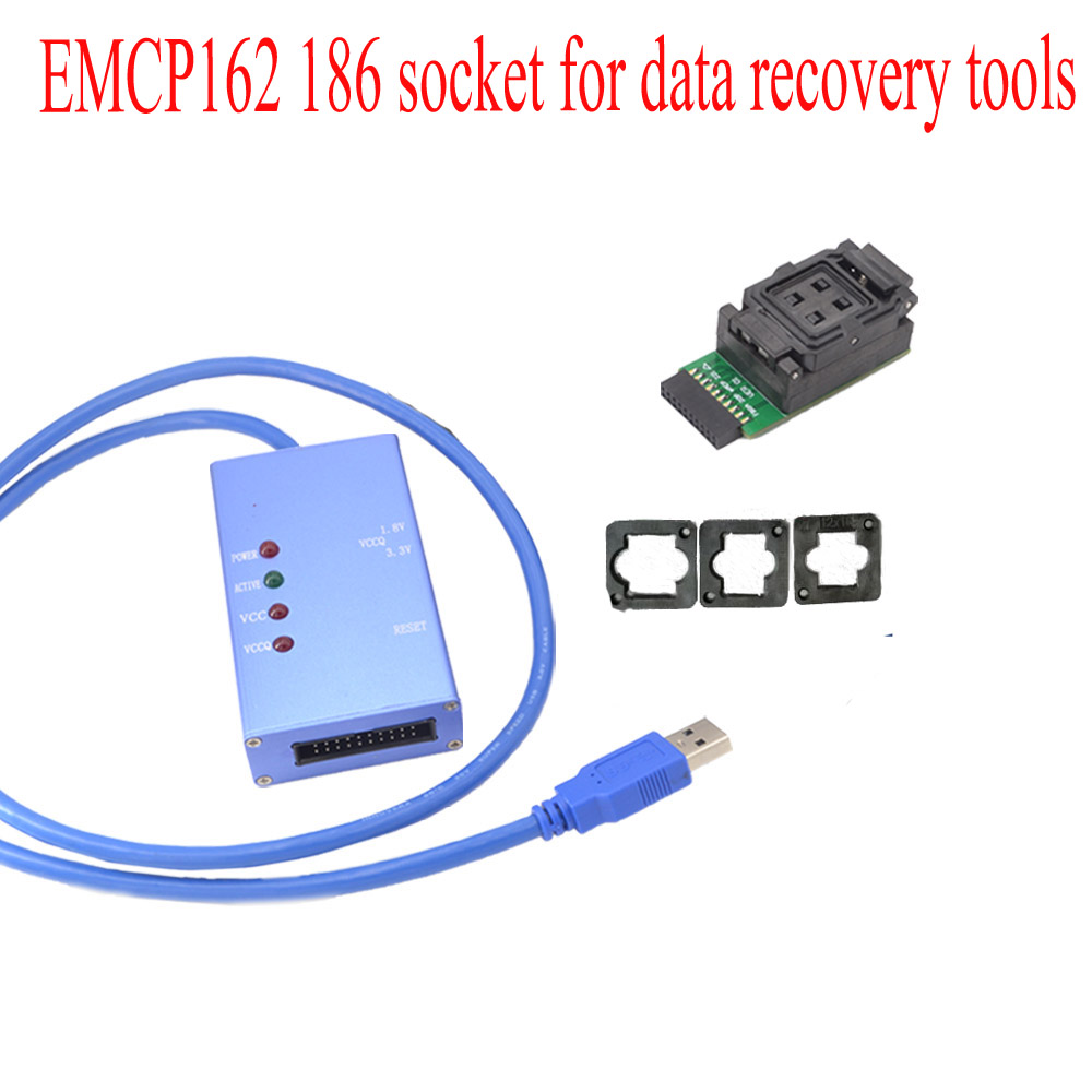 EMCP162 186 socket outils de récupération de données pour android téléphone USB 3.0 Universal socket test